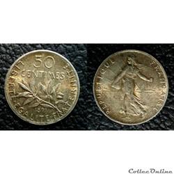 50 centimes 1897