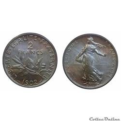 2 francs 1902