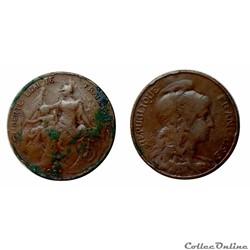 5 centimes 1921