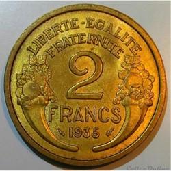 2 francs 1935