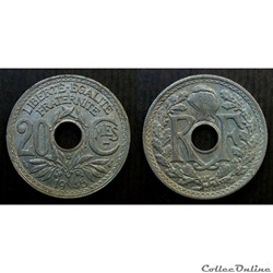 20 centimes 1945 B