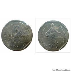 2 francs 1978 ESSAI