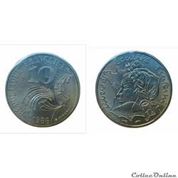 10 francs 1986 Jiménez ESSAI