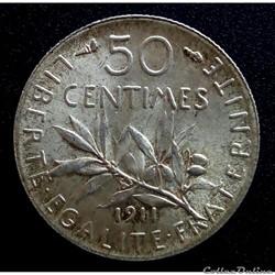 50 centimes 1911