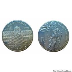 100 francs 1993 Delacroix ESSAI