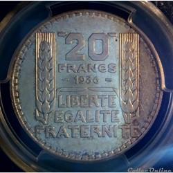 20 francs 1936 en AU55
