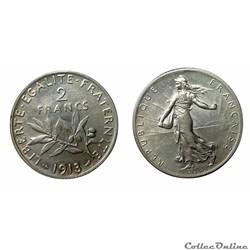 2 francs 1913