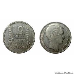 10 francs 1937