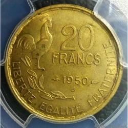 20 francs 1950 B Georges Guiraud 4 fauci...