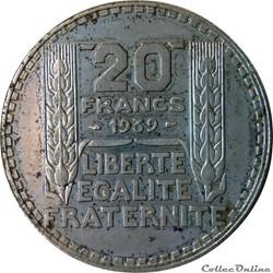 20 francs 1939