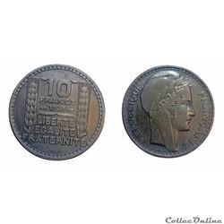 10 francs 1945 ESSAI