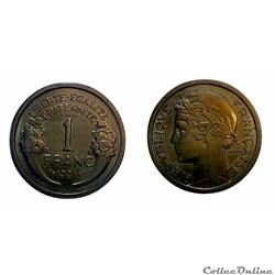 1 franc 1931 ESSAI