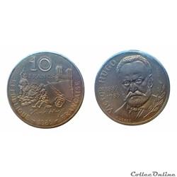 10 francs 1985 Victor Hugo B ESSAI