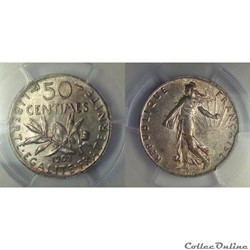 50 centimes 1903 en MS62