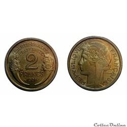 2 francs 1931 ESSAI