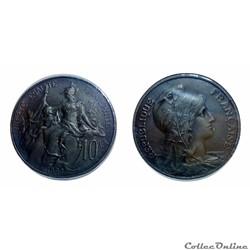 10 centimes 1898 ESSAI
