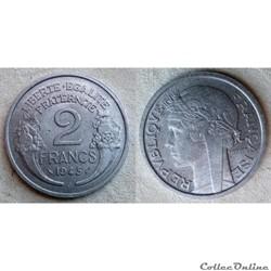 2 francs 1945 C