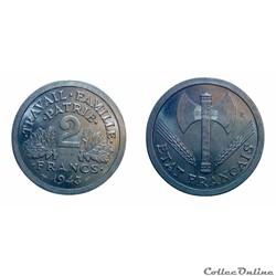 2 francs 1943 ESSAI