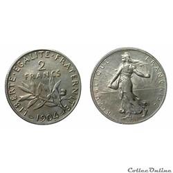 2 francs 1904