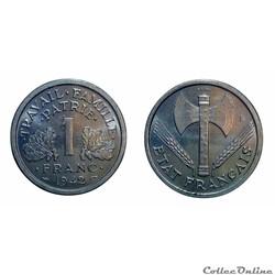 1 franc 1942 lourde ESSAI