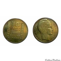 10 francs 1929 ESSAI