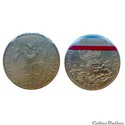 10 francs 1983 Conquête de l'espace B ES...