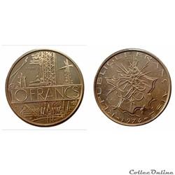 10 francs 1974 A ESSAI