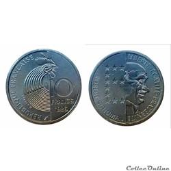 10 francs 1986 Schuman ESSAI
