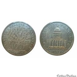 100 francs 1982 ESSAI