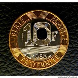 10 francs 1988 ESSAI