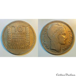 10 francs 1946 rameaux longs