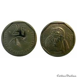 2 francs 1997 Georges Guynemer ESSAI