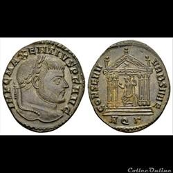 Maxentius, AE Follis