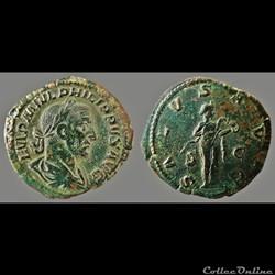 Philip I, AE Sestertius