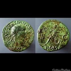 Vespasian, AE Dupondius