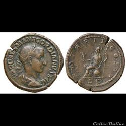 AE Sestertius, Gordian III,  A.D. 238-24...