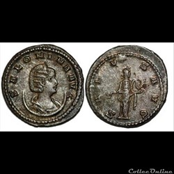 Salonina, base silver Antoninianus