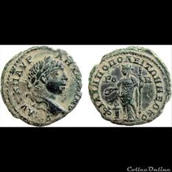 AE Assarion, Elagabalus A.D. 218-222, Thrace Philippopolis