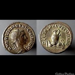 Herennius Etruscus, AR Antoninianus