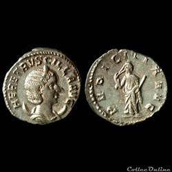 Herennia Etruscilla, AR Antoninianus