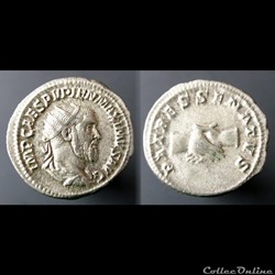 Pupienus, AR Antoninianus