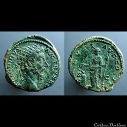 Marcus Aurelius, AE Dupondius