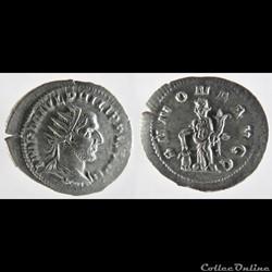 Philip I, AR Antoninianus: ANNONA AVGG (Annona)