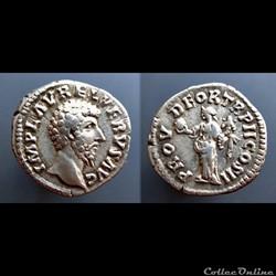 Lucius Verus, AR Denarius