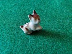 Petit chien porcelaine
