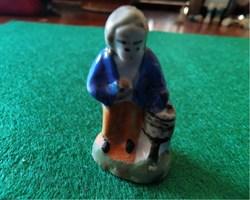 Tambourin en porcelaine