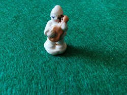 Pierrot guitariste porcelaine