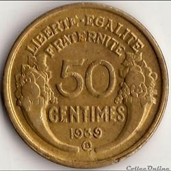 50 CENTIMES MORLON 1939, Brux.