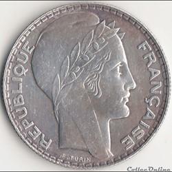 10 FRANCS TURIN 1939