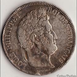 5 francs IIème type DOMARD 1835 A